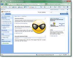 a video example of customizing extending the sharepoint u0027help desk