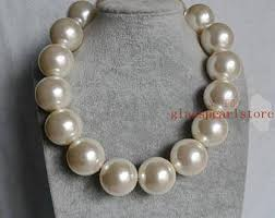 big pearls necklace images Large pearl necklace etsy jpg