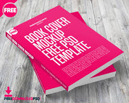 book cover mockup free psd template freedownloadpsd com