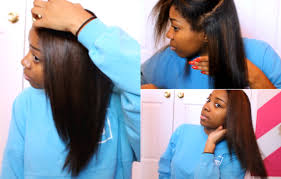 straight or curly hair for 2015 curly to straight hair routine color treated 2015 youtube