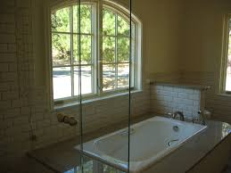 shower enclosure ideas bathroom rustic with beige wall glass
