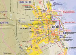 doha qatar map qatar and doha city map itmb maps books travel guides buy