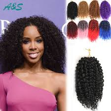 crochet black weave hair black crochet braids hair extension curly crochet hair kinky curly