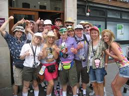 doing the otley run in fancy dress our guide