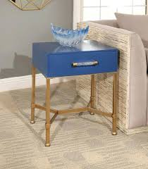 navy blue accent table blue accent table hism co