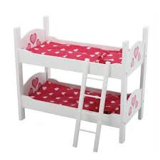 The New York Doll Collection Doll Bunk Bed Fits  Inch Dolls EBay - Dolls bunk bed