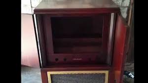 Upcycled Stereo Cabinet Television Cabinet Upcycled Into A Scotch Cabinet Youtube