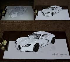 cars drawings 3d cars drawing drawing cars easy 3d drawing drawing sketch