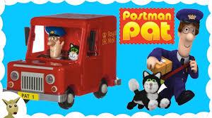 postman pat toys video brings package sofia