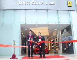 lexus used car in delhi ferrari opens official dealership in new delhi