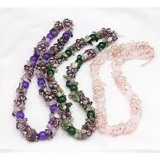 necklace stone beads images Necklace with semiprecious stone beads tahiti jpg
