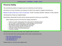 how to avoid scams on craigslist 6 steps with pictures