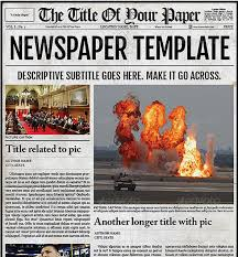 newspaper theme for ppt office newspaper template business plan template