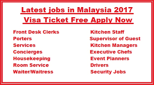 Desk Security Jobs Latest Jobs In Malaysia 2017 Visa Ticket Free Apply Now
