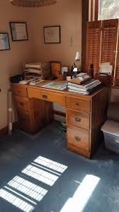 Furniture Of America Computer Desk Canyon Brown Find Crafts At Estate Sales