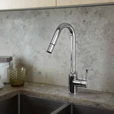 pekoe 1 handle pull down high flow kitchen faucet american standard