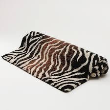 Zebra Bath Rug Abyss Zebra Bath Rug Bloomingdale S