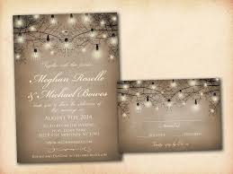 wedding invitations rustic template best template collection