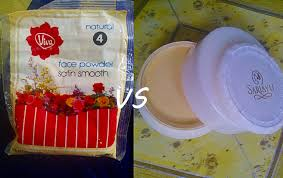 Bedak Viva note s about viva powder vs sariayu bedak tabur
