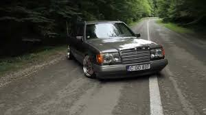 lowered mercedes w123 stanced s124 estate youtube