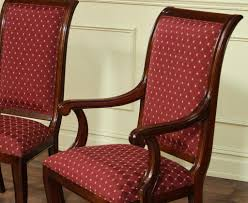 beautiful dining room arm chairs upholstered images house design