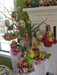 Easter Decorations Trees by Happy Holidays Some Of My Vintage Easter Decorations