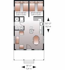 cottage style house plan 2 beds 1 00 baths 540 sq ft plan 23 2291