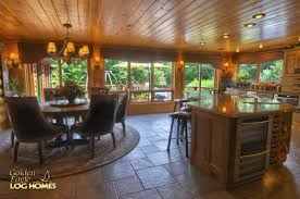 Log Home Open Floor Plans by Golden Eagle Log Homes Log Home Cabin Pictures Photos Ponderosa