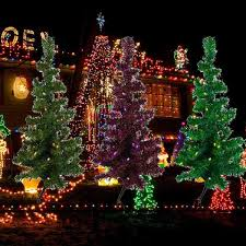 Outdoor Christmas Decorations At Walmart by Christmas In Lights Christmas Decorations On Sale Whole House