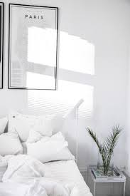 Black And White Bed Minimal Bedrooms Again Floor Lamp Nest And Bedrooms