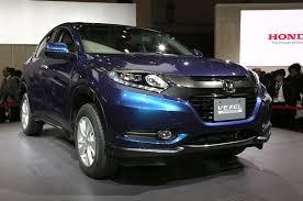 crossover honda honda vezel compact crossover likely for u s 2013 tokyo motor