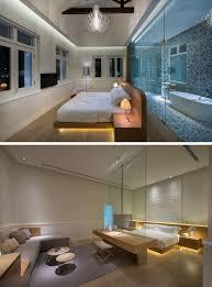 hotel bedroom lighting 9 examples of beds with hidden lighting underneath contemporist