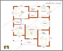 design kerala home design 1000 sq ft house plans 3 bedroom bedroom