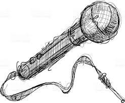 drawing mic stock vector art 164157111 istock
