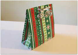 gift wrap bags make a gift bag from wrapping paper the make your own zone