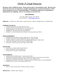Summary Of Resume Example by Examples Of Resumes Best Resume Example 2017 With Regard To 85