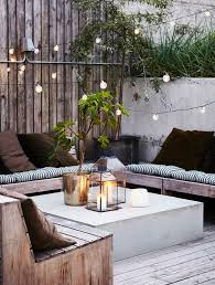 Diy Outdoor Living Spaces - 10 contained cosy and private gardens timber furniture outdoor