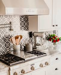 Small Tiles For Kitchen Backsplash This Kitchen Backsplash Is Amazing Black Inspirations With And