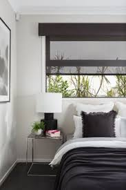Roller Blinds Bedroom by Dark Coloured Pelmet With Translucent Roller Blind U2026 Pinteres U2026