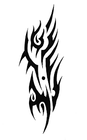 tribal sleeve stencil 2015