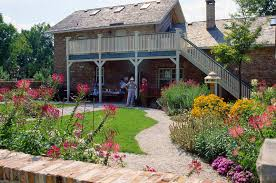 Cottage by English Cottage Garden Rotary Botanical Gardens