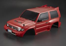 mitsubishi evo red and black killerbody mitsubishi pajero evo 1998 rc cars rc parts and rc