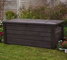 Keter Bench Storage Outdoor Storage Bench Ebay