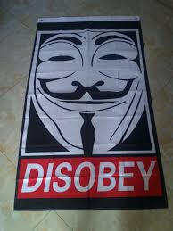 Anonymous Flag Buy Disobey Anonymous And Get Free Shipping On Aliexpress Com