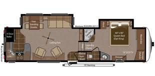 Montana Fifth Wheel Floor Plans Montana Specifications For 2013