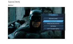 Find Memes Online - superman martha batman pause resume game change eam find online