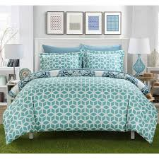 Duvet Cover Teal Chic Home Ibiza Reversible Duvet Cover Set U0026 Reviews Wayfair
