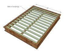 King Platform Bed Frame Plans Free by King Size Bed Frame Diy Diy Furniture Pinterest King Size