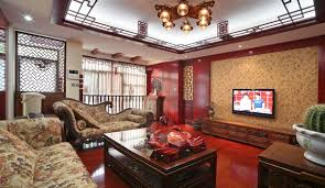 chinese home interior classic and luxury chinese style living room decoration