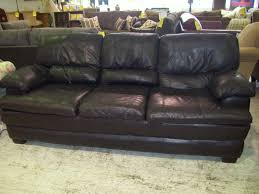 Broyhill Living Room Chairs Furniture Broyhill Black Leather Sofa Leather Loveseat For